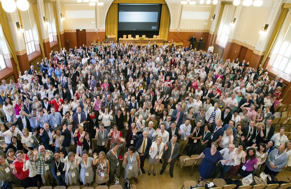 The 500+ delegates at LIBER 2016. Image by LIBER, CC-BY.
