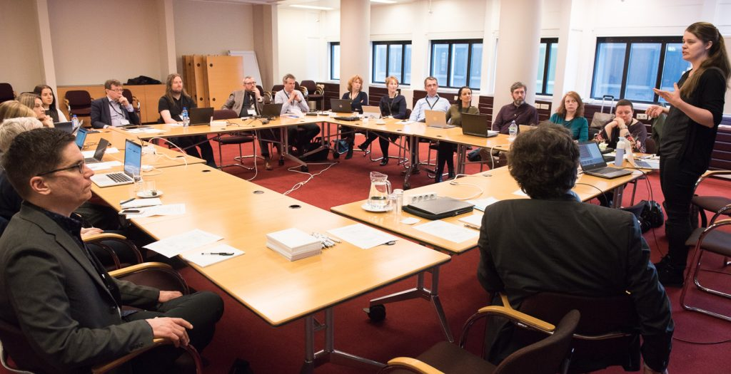 First LIBER DH & DHC working group meeting