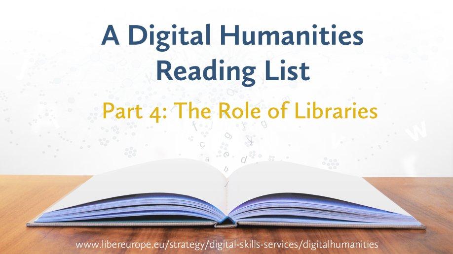 Digital Humanities Reading List Part 4